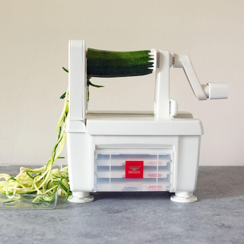 Paderno World Cuisine 4-Blade Spiralizer Pro