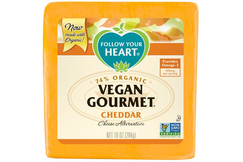 Vegan gourmet cheese