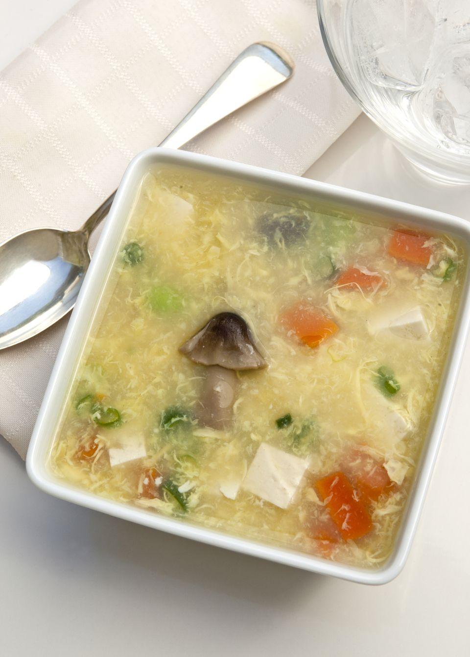 Kinoko tamago soup
