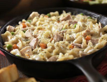 Tuna casserole with macaroni