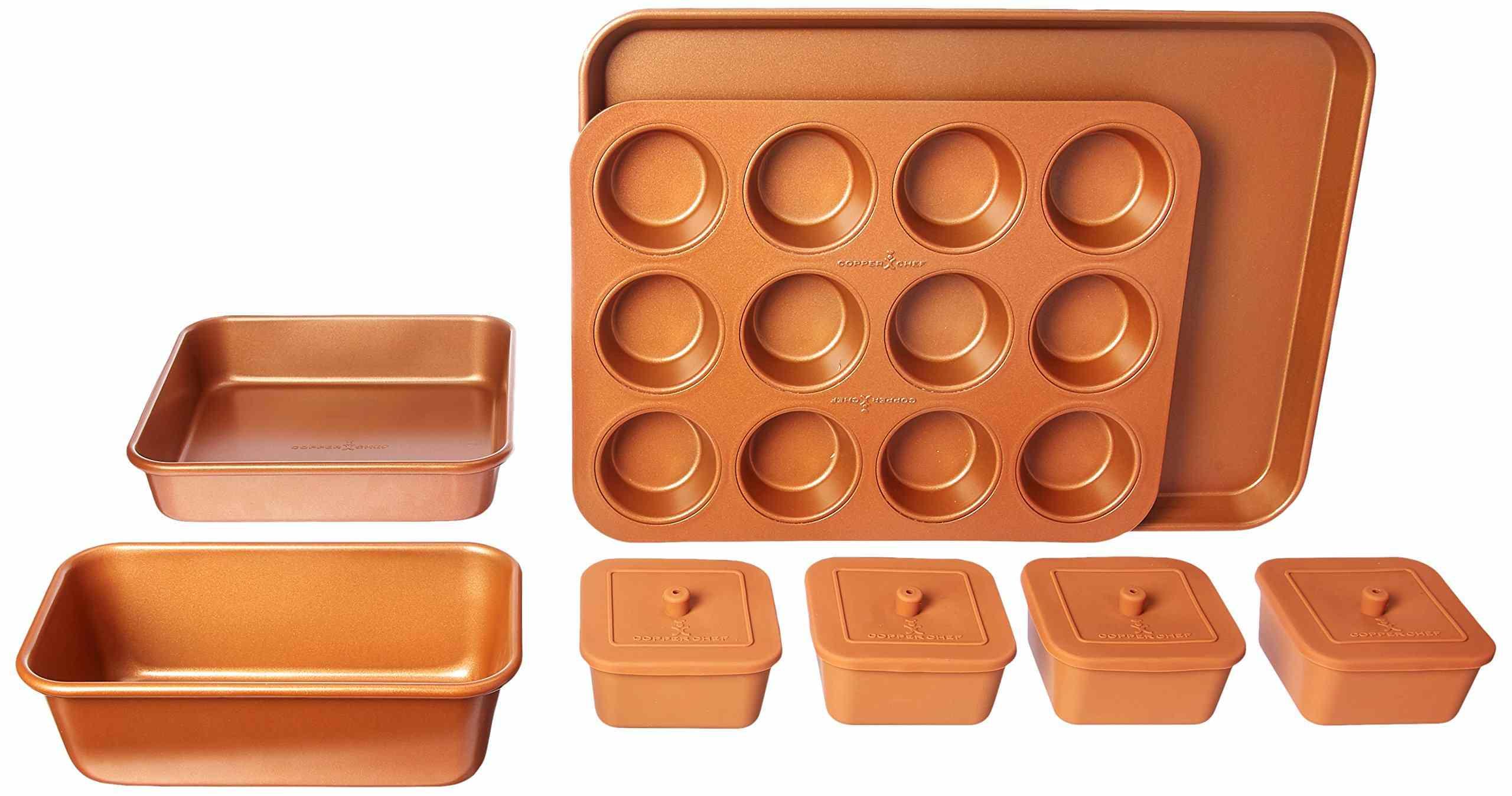 Copper Chef 12-Piece Set Nonstick Oven Bakeware