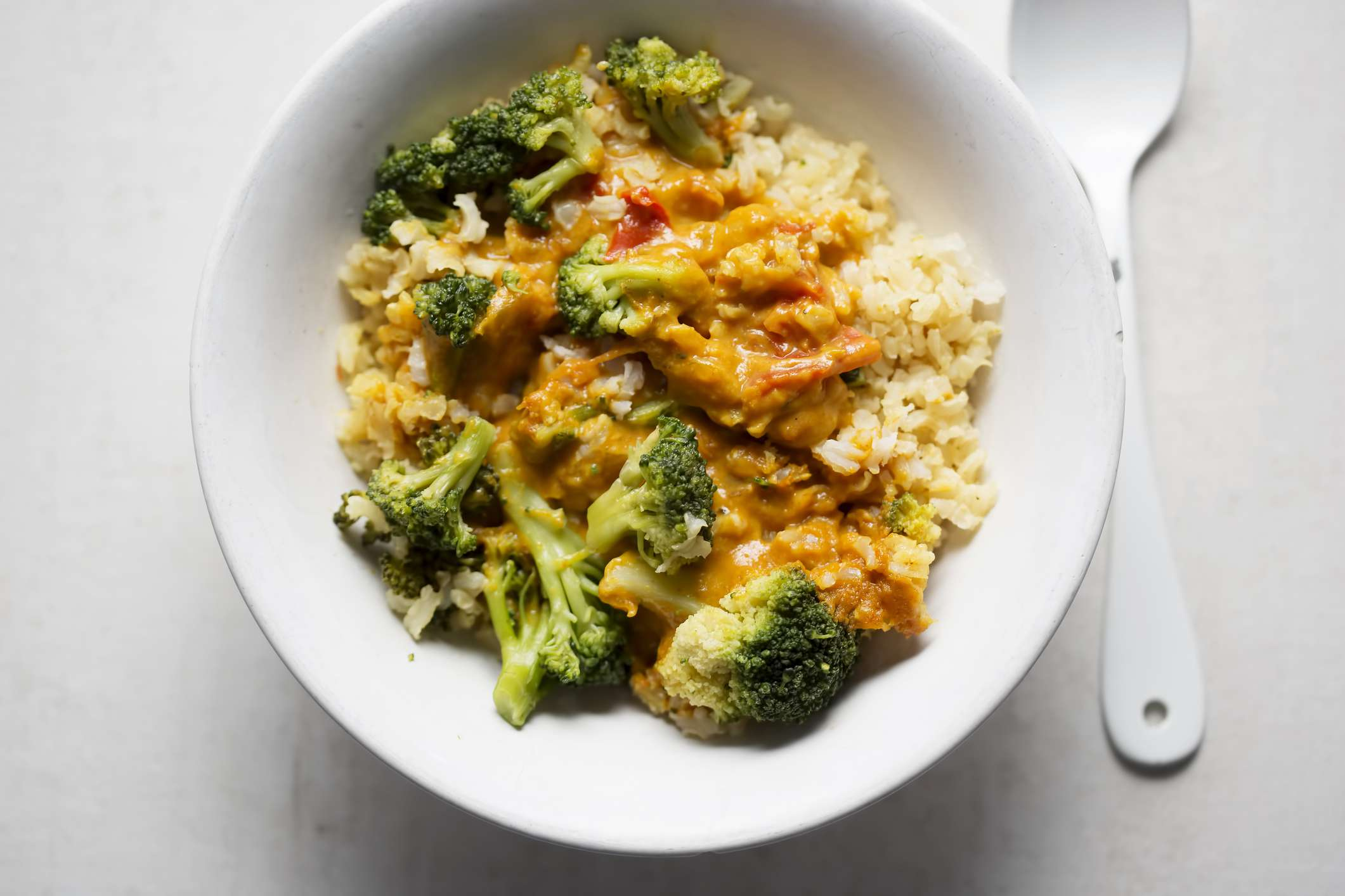 Broccoli curry