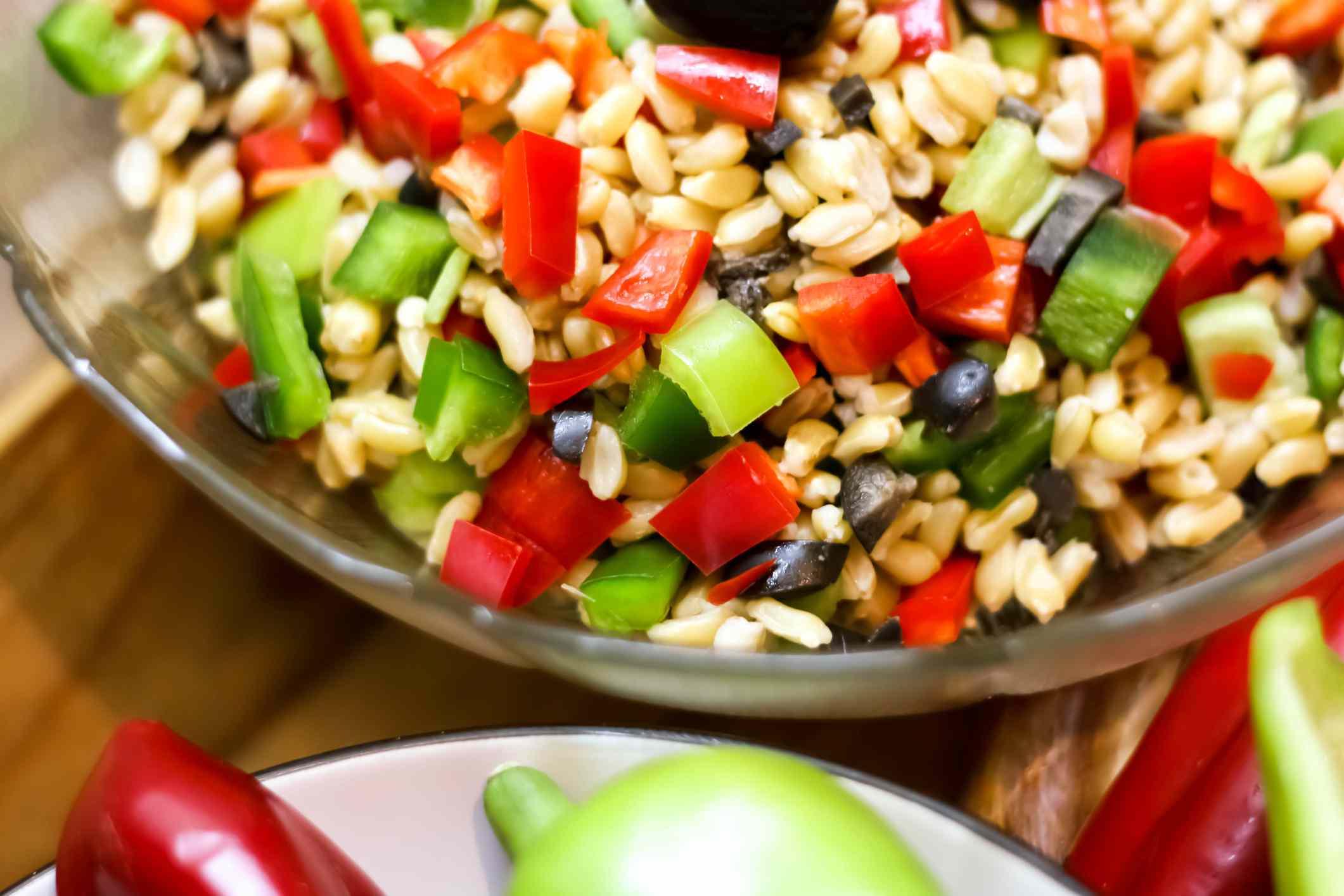 Salad with Kamut
