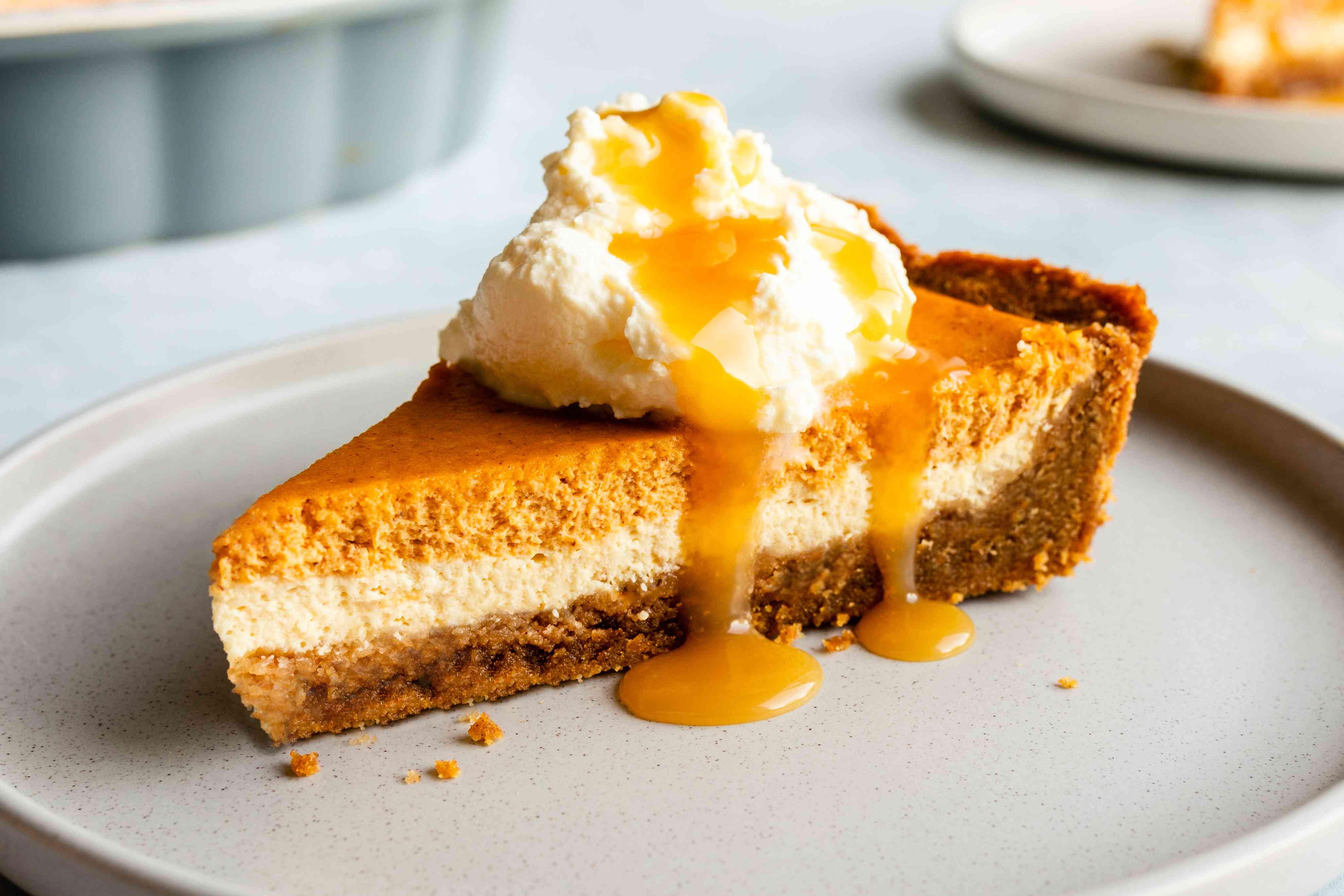 Easy layered pumpkin cheesecake recipe
