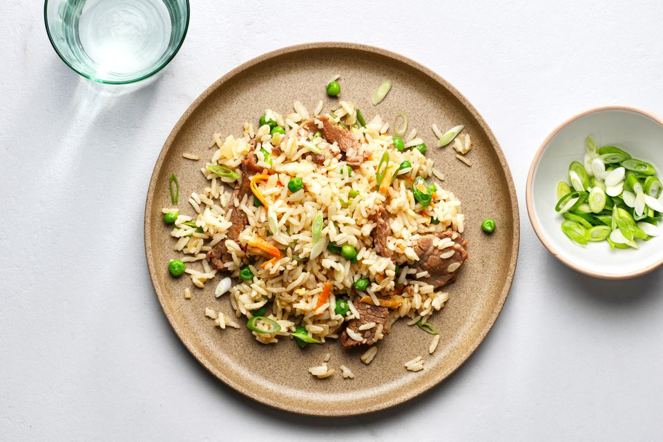 Chinese-Style Beef Fried Rice