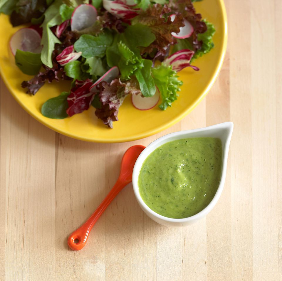 Avocado Cilantro Dipping Sauce
