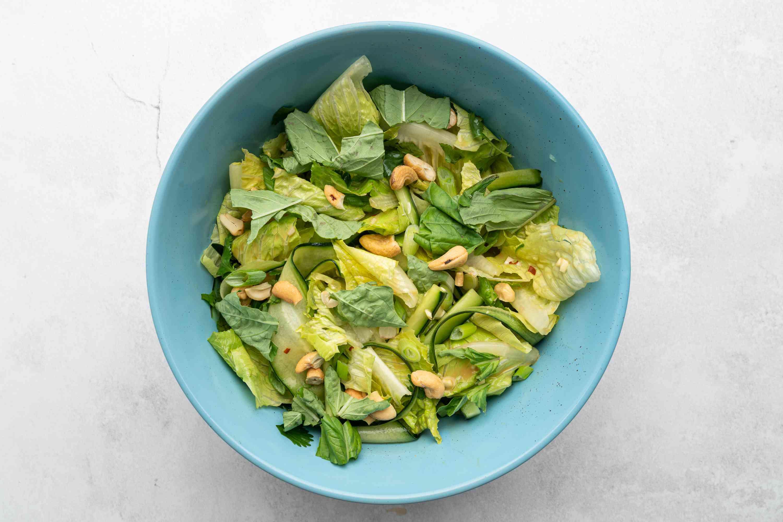 Thai Green Salad in a bowl