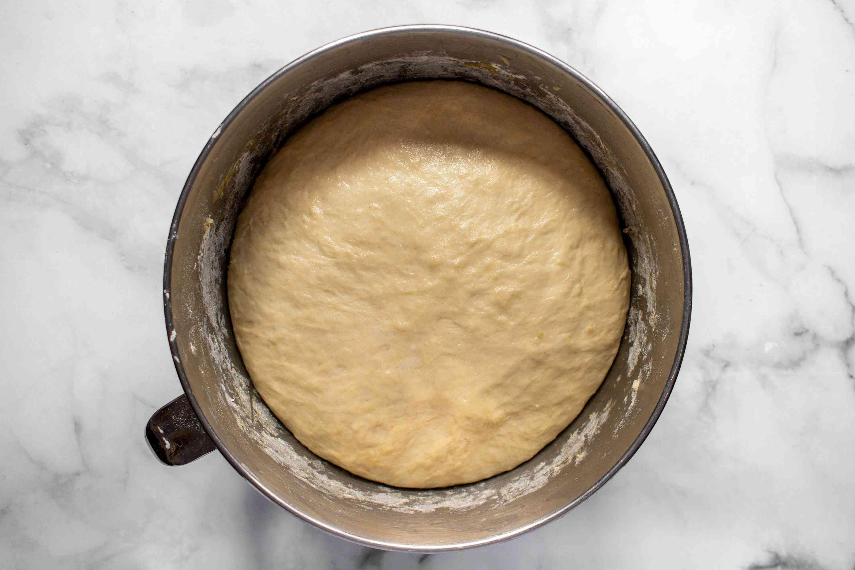 dough ball rising