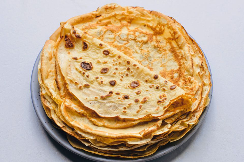 Croatian Pancakes or Crepes (Palacinke)
