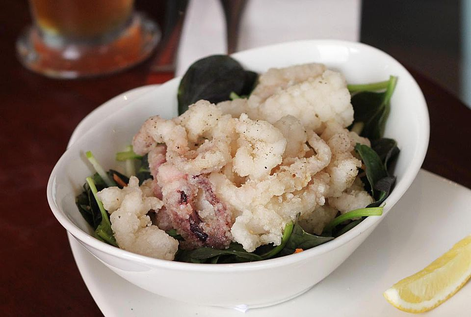 Salt and pepper squid