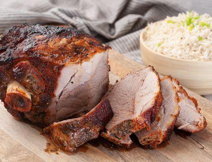 Roasted pork shoulder recipe