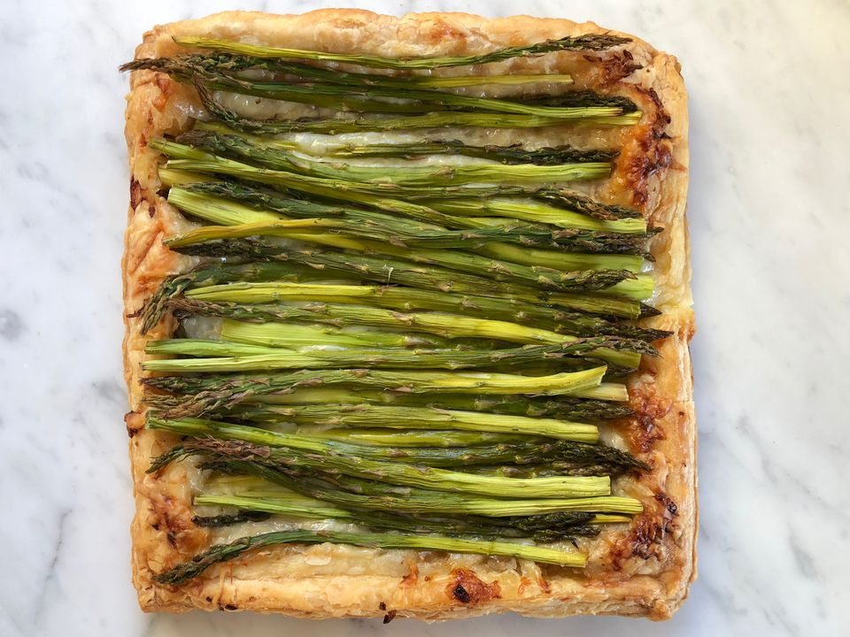 Spring Puff Pastry Tart