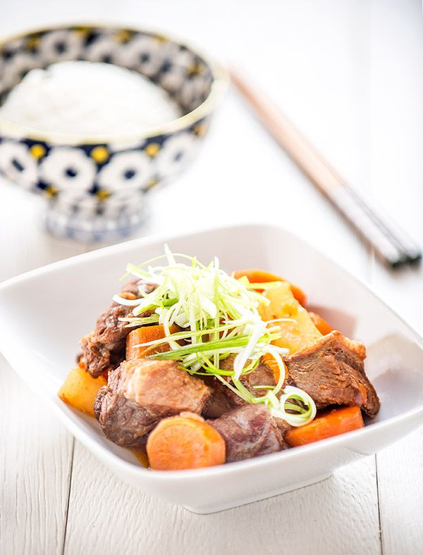 Classic Chinese beef stew