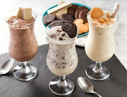 Cookies and Cream Milkshakes