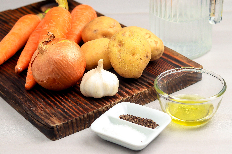Crockpot roasted vegetables ingredients