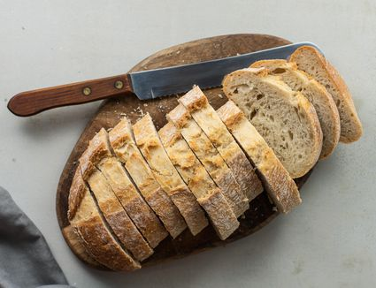 Cut bread
