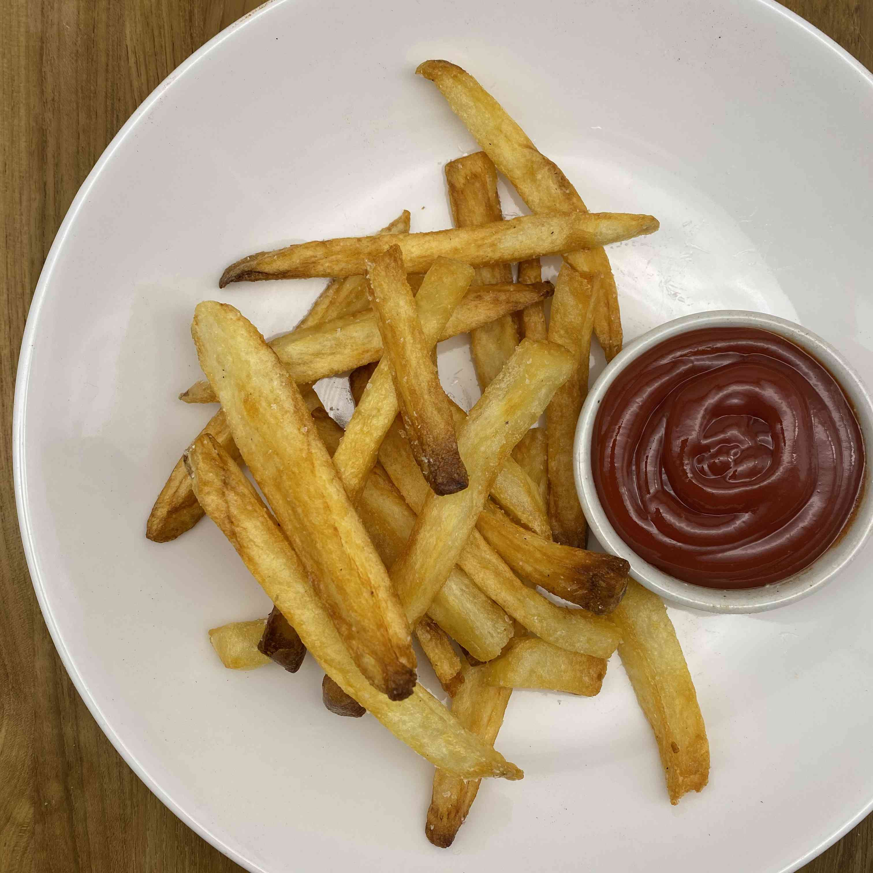French Fries Recipe Test