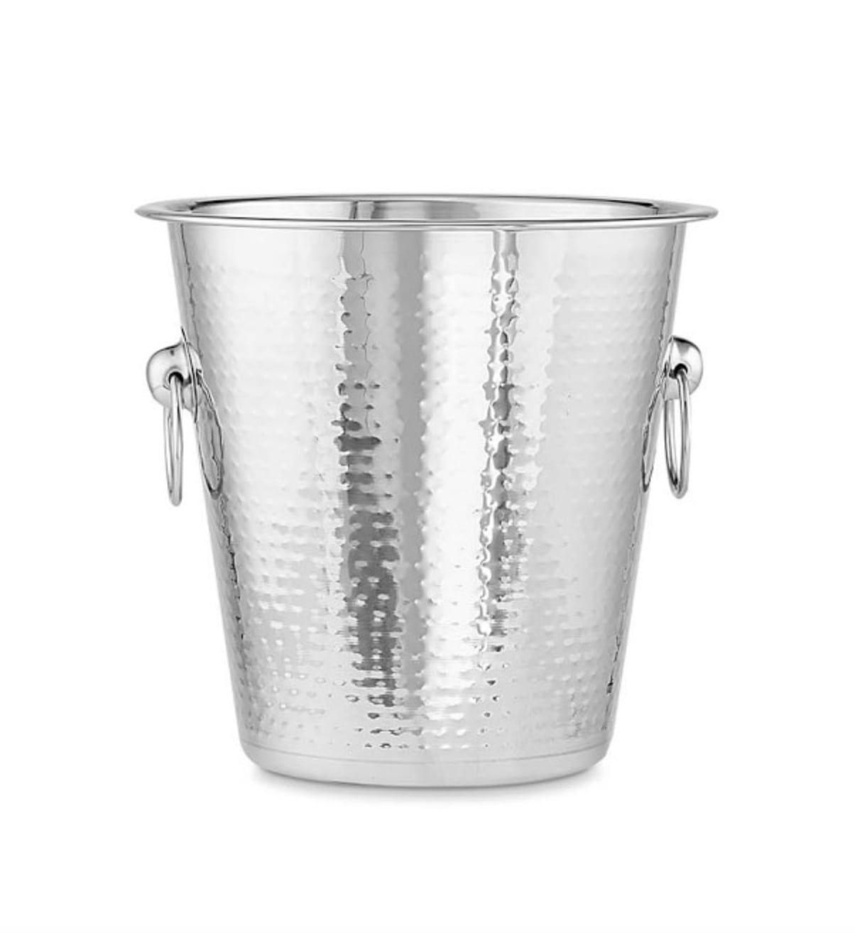 williams-sonoma-hammered-stainless-steel-wine-bucket