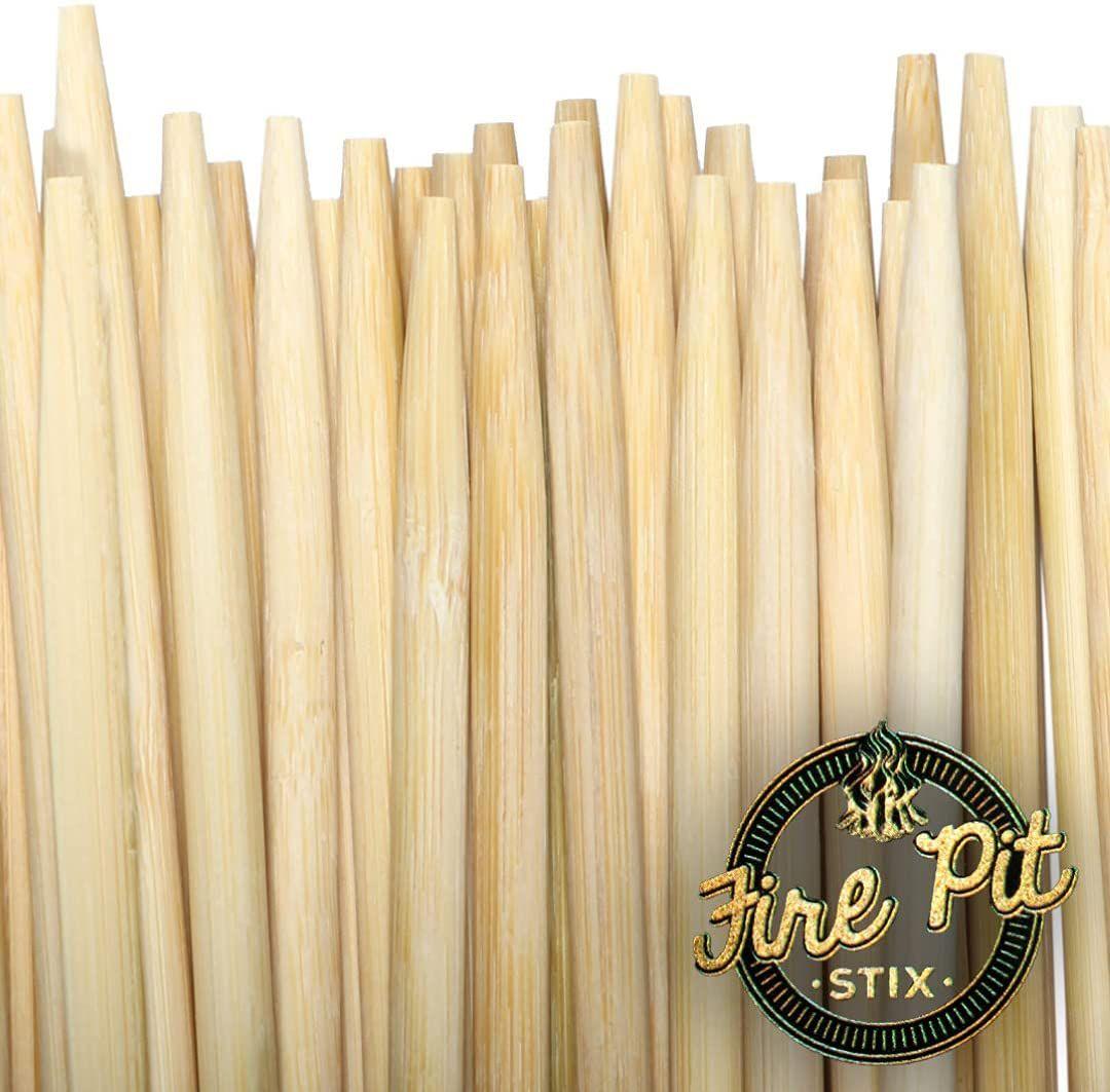 Firepit Stix Bamboo Roasting Sticks