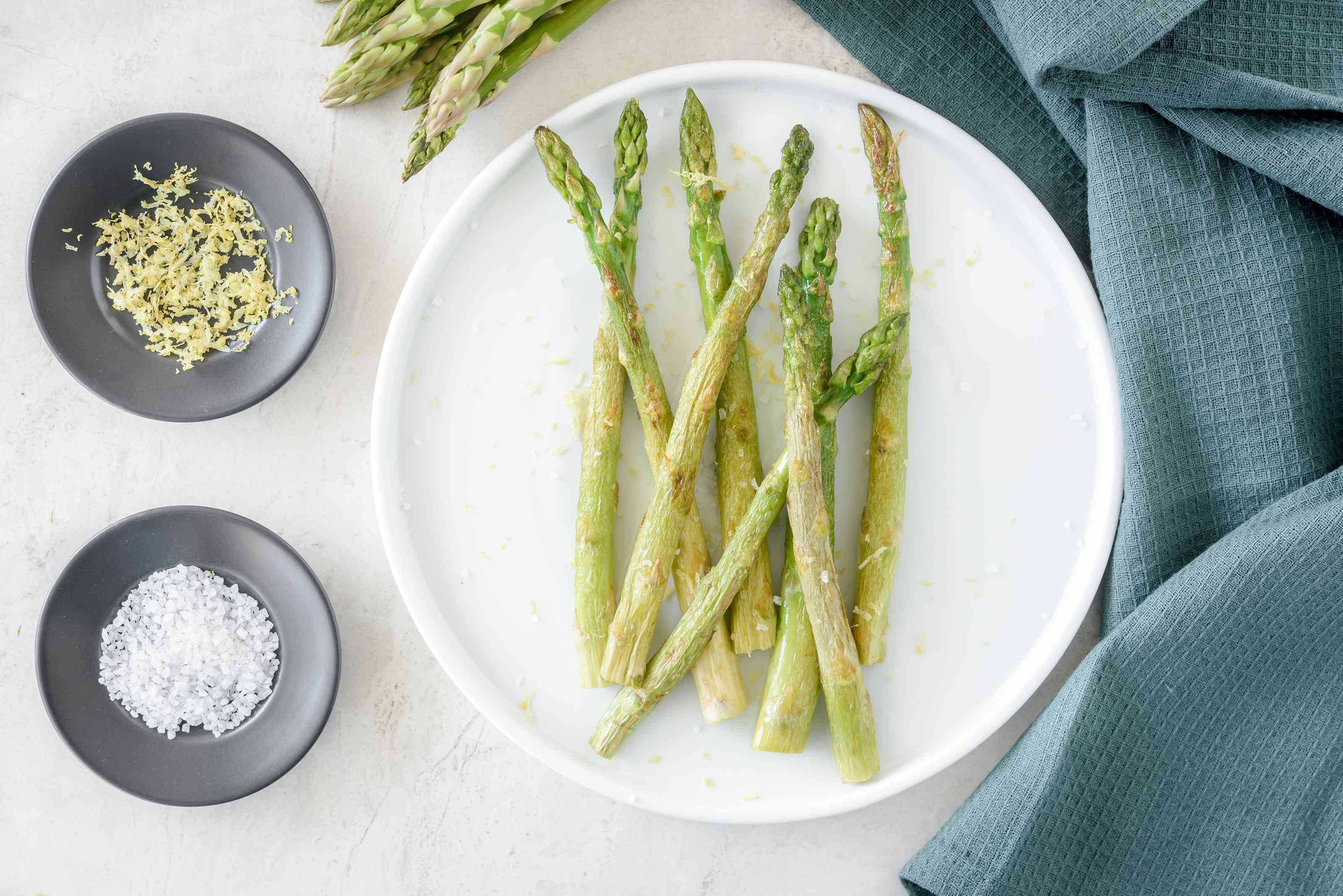 Pan roasted asparagus recipe