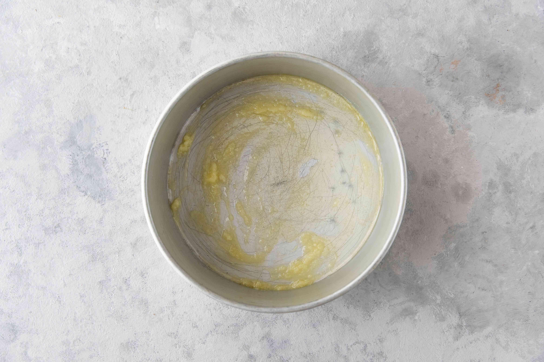 Ghee in baking pan