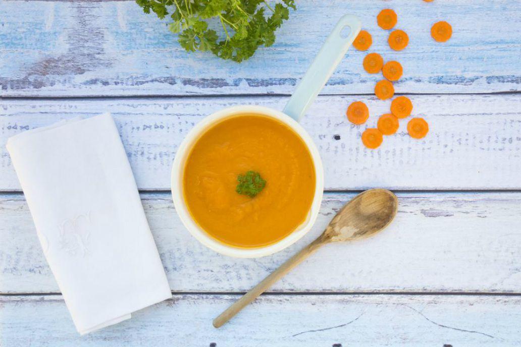Vegan Gluten-Free Ginger Carrot Soup