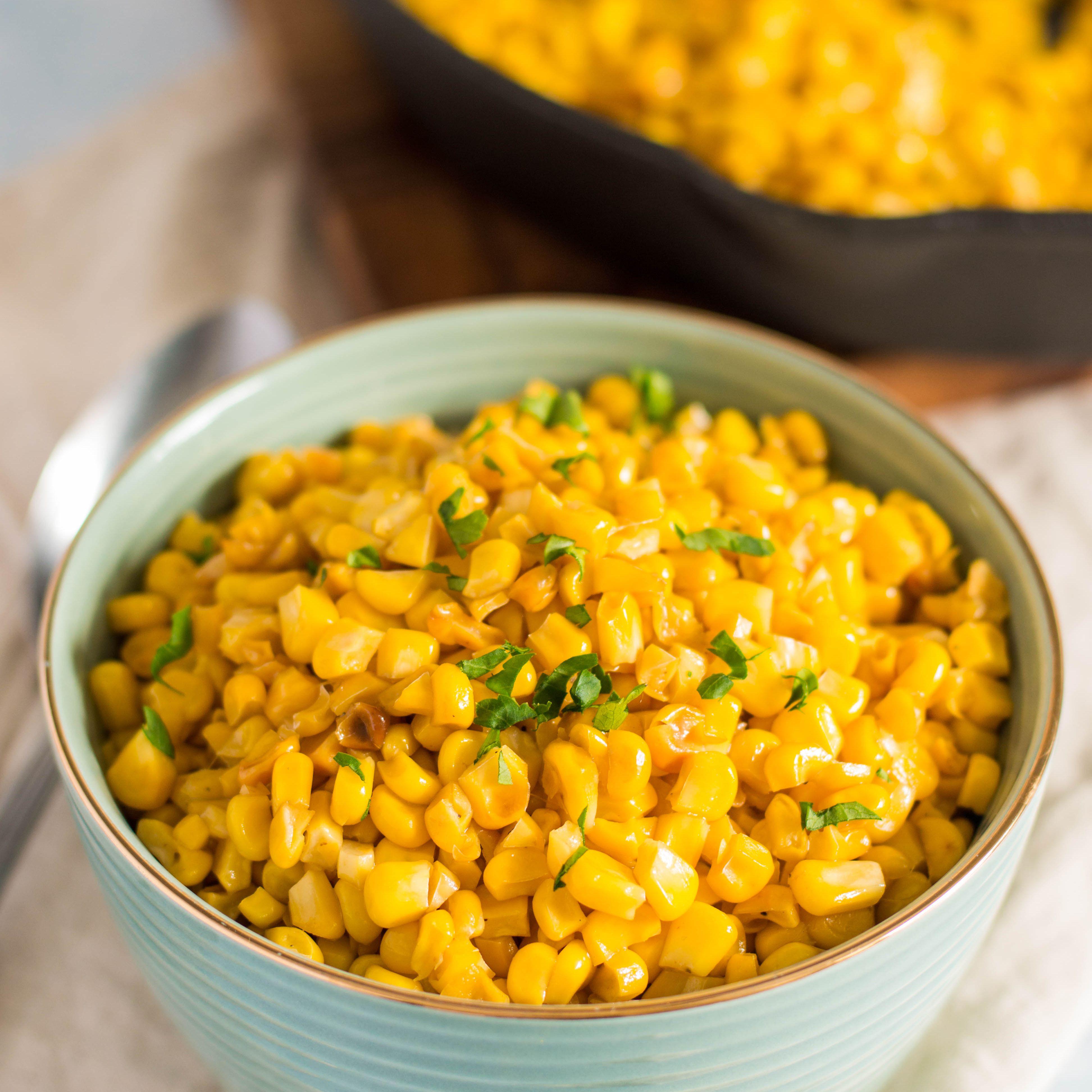 Classic Skillet-Fried Corn Recipe