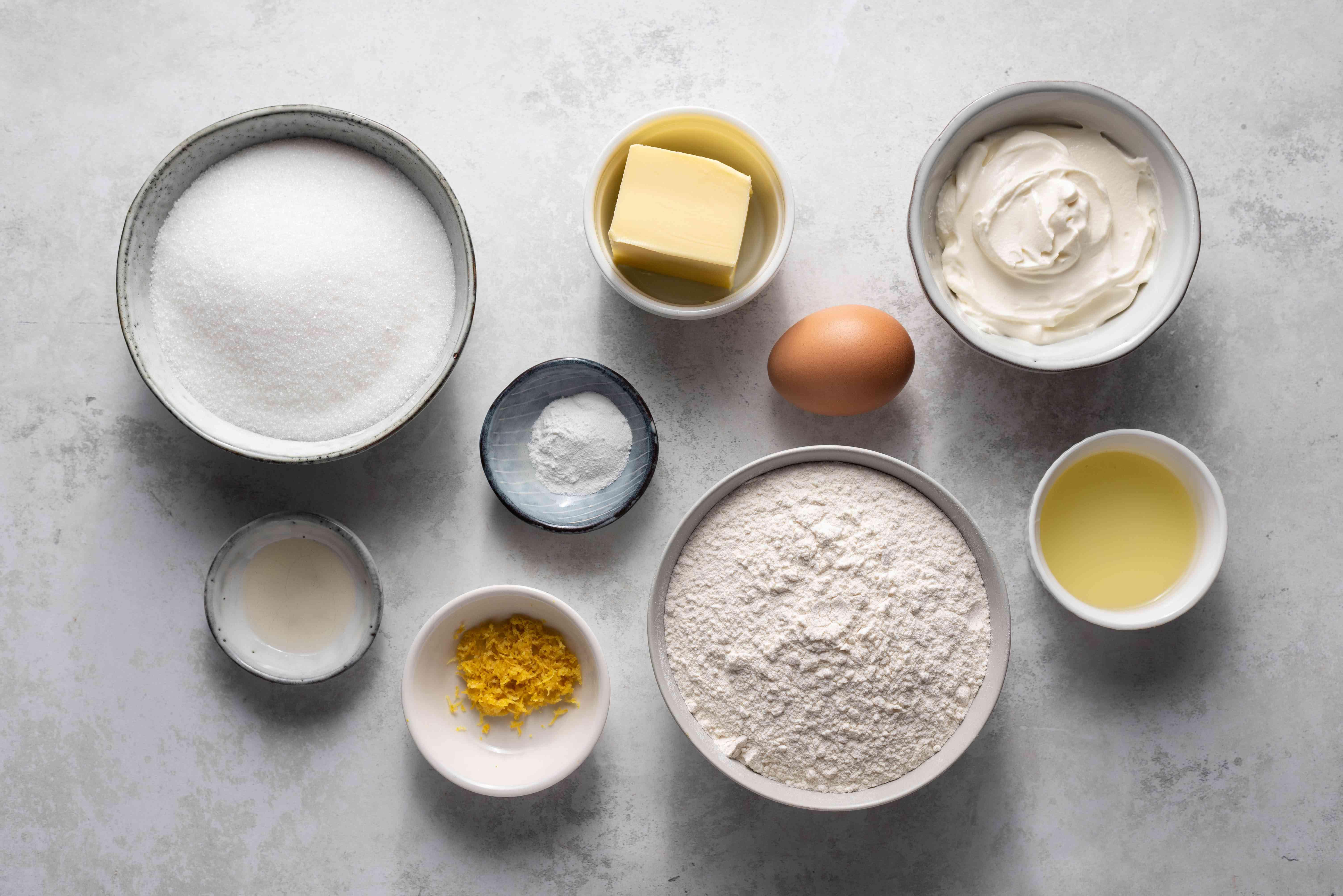 Lemon Cream Cheese Cookies ingredients