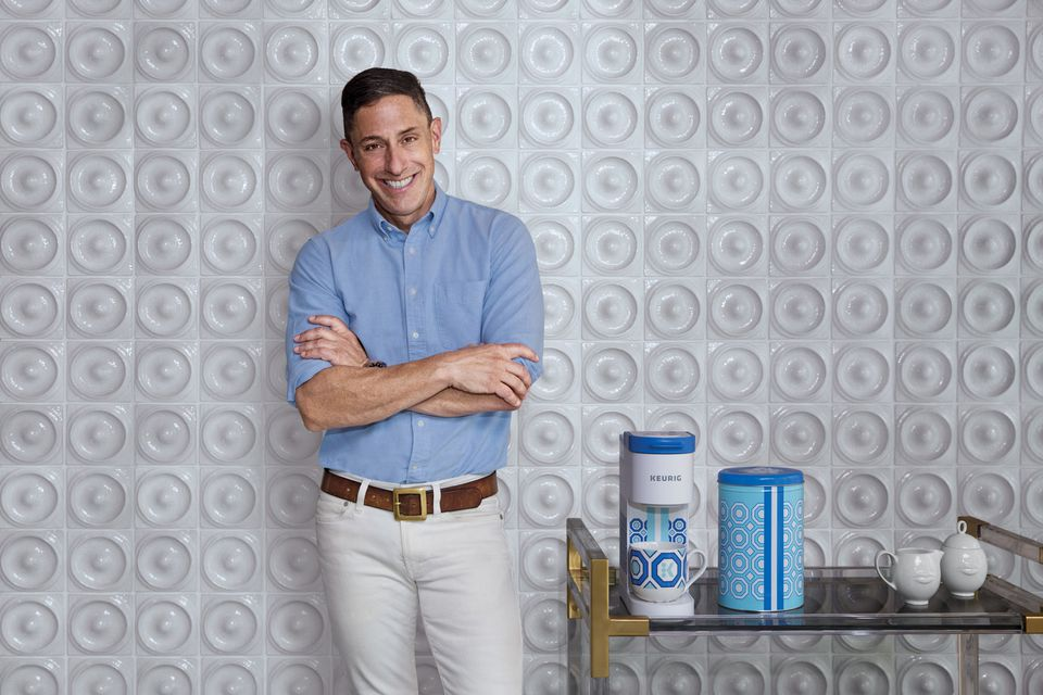 Jonathan Adler with his Coffee Collection
