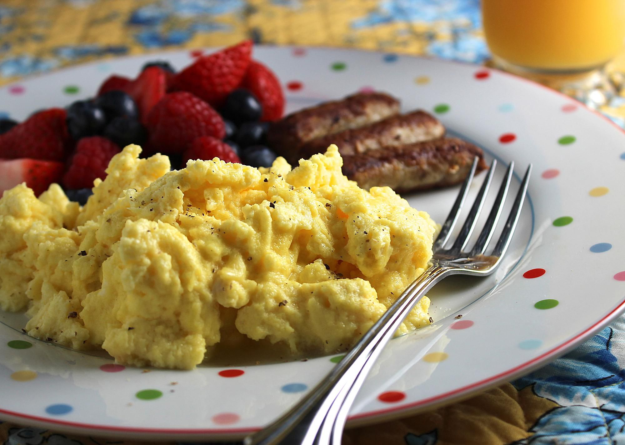 how to cook scrambled eggs recipe