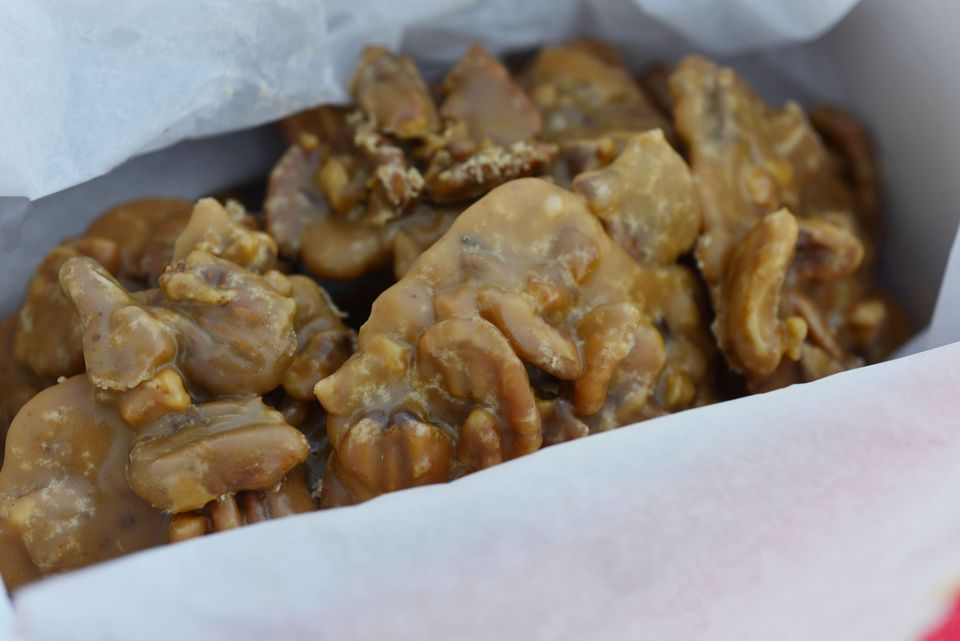 Box of Southern pralines