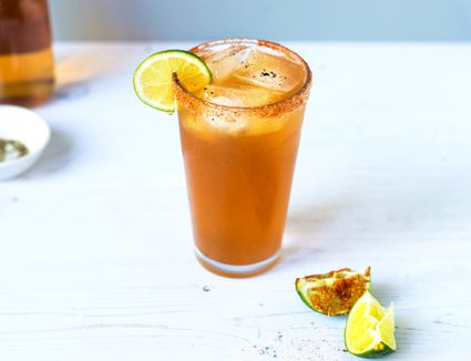 spicy michelada mexican beer