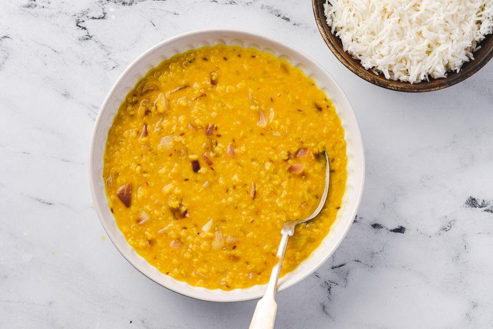 Moong Dal: Vegetarian Indian Yellow Lentil Dhal