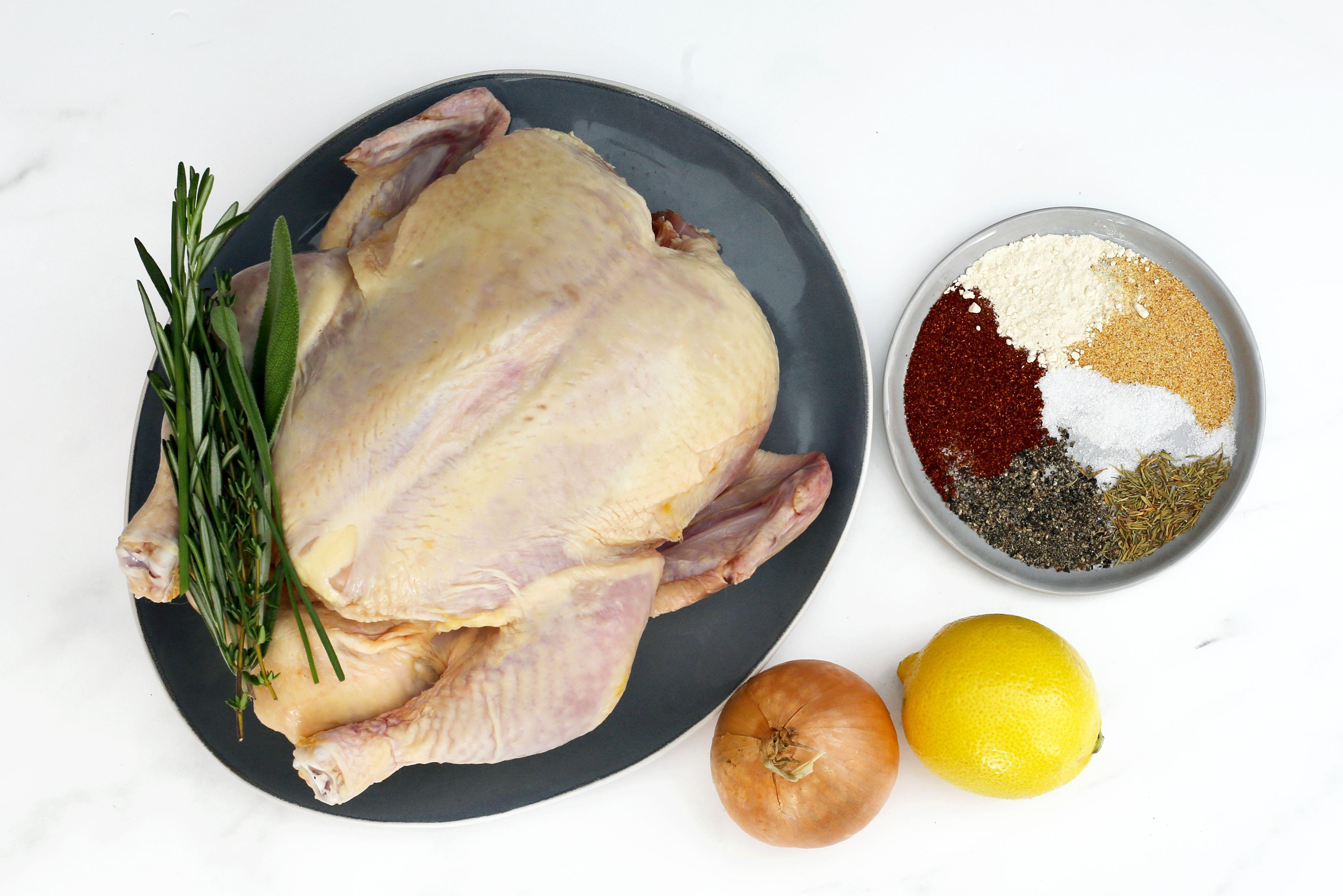 Instant Pot whole chicken ingredients