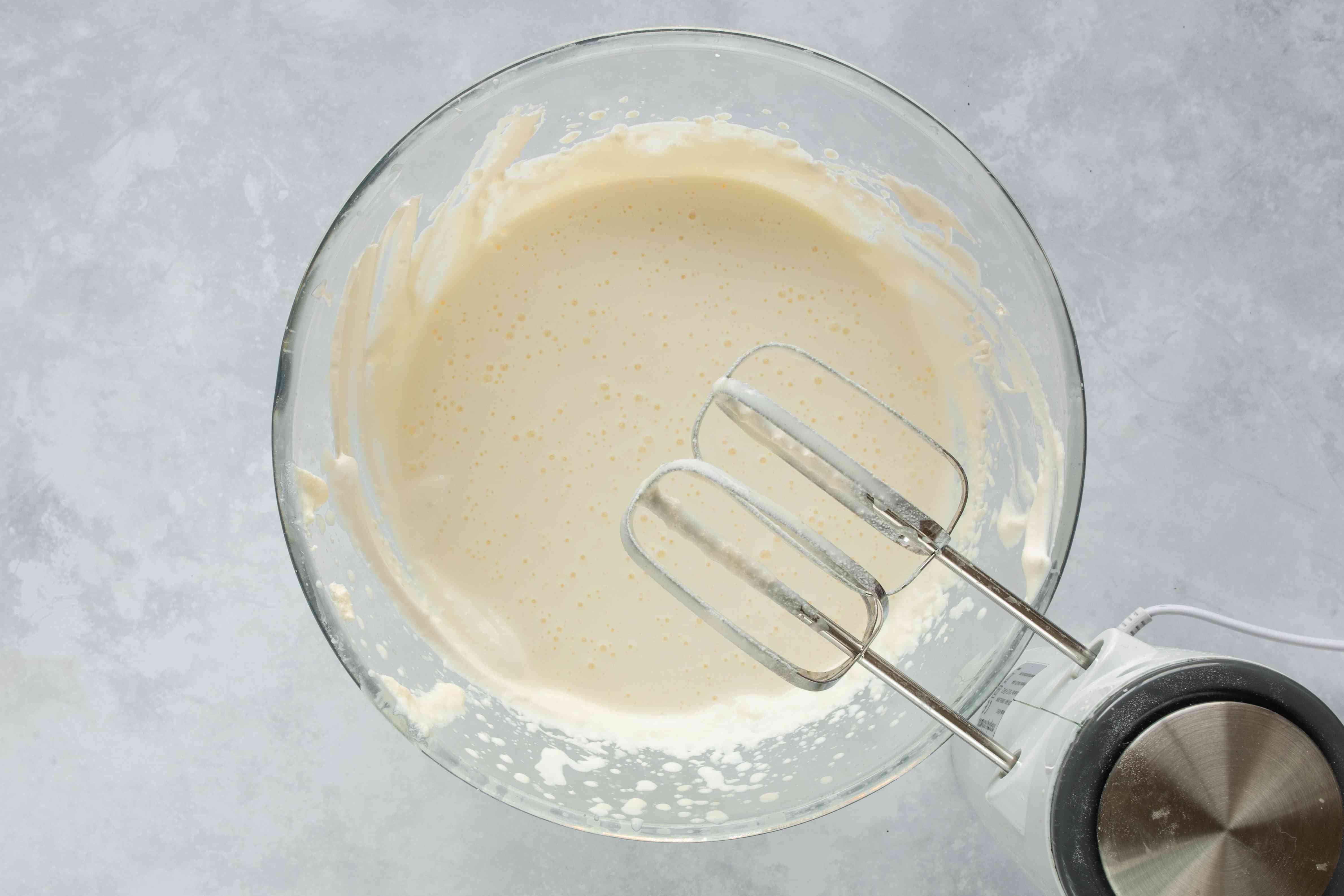 Beat cream