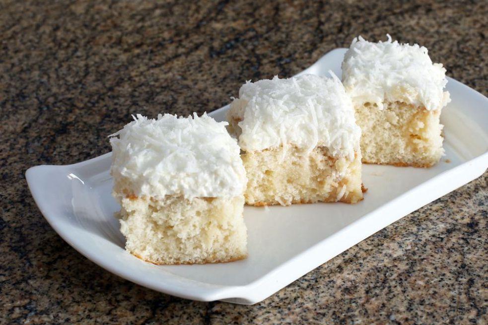 Southern Coconut Poke Cake