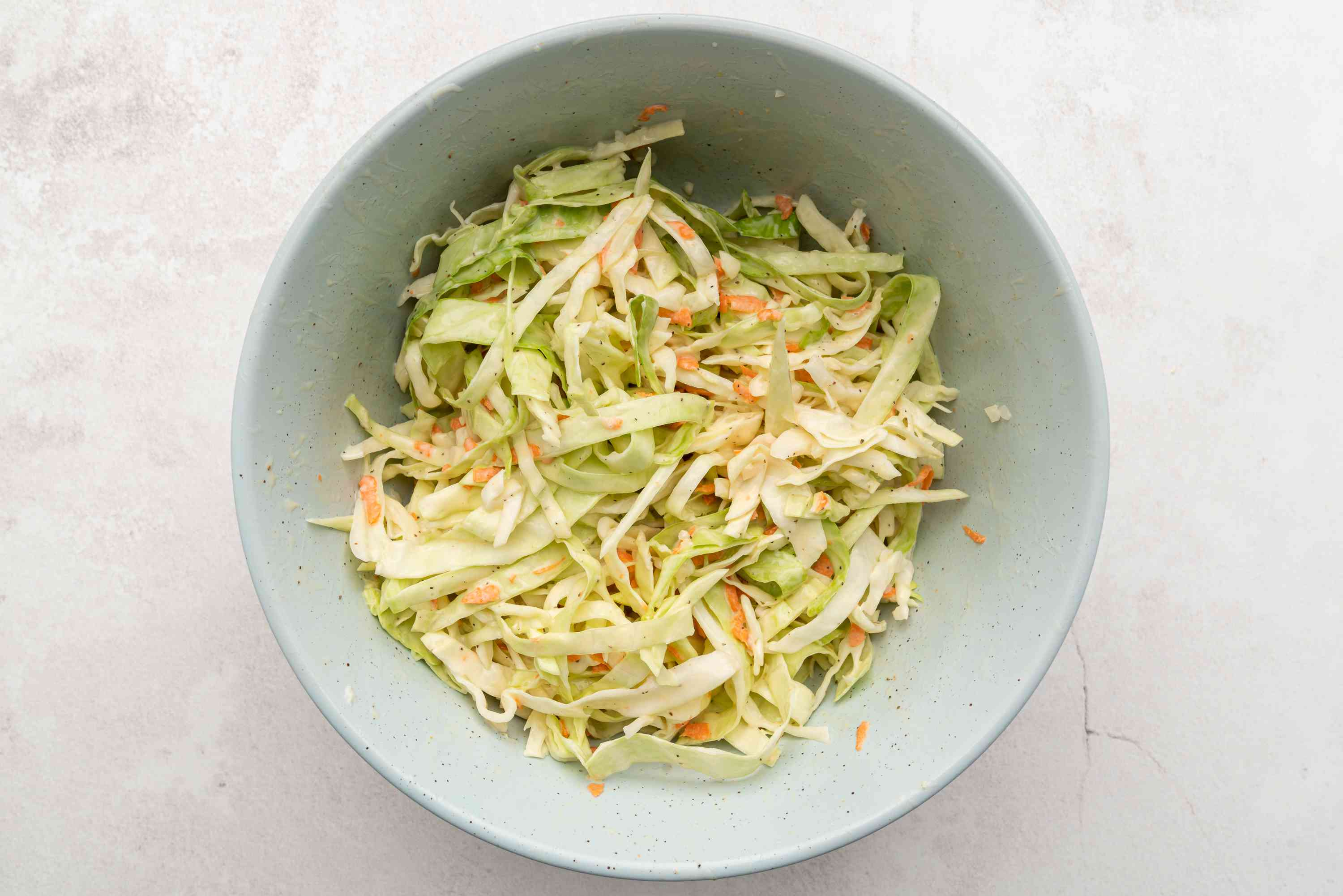 Coleslaw With Creamy Tangy Dressing