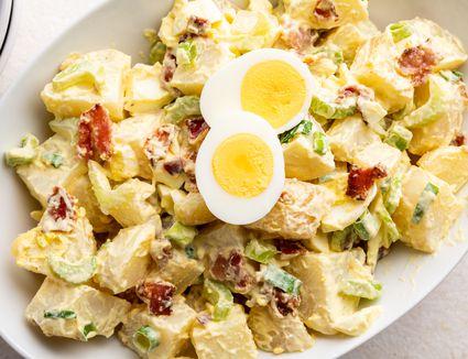 Bacon Deviled Egg Potato Salad