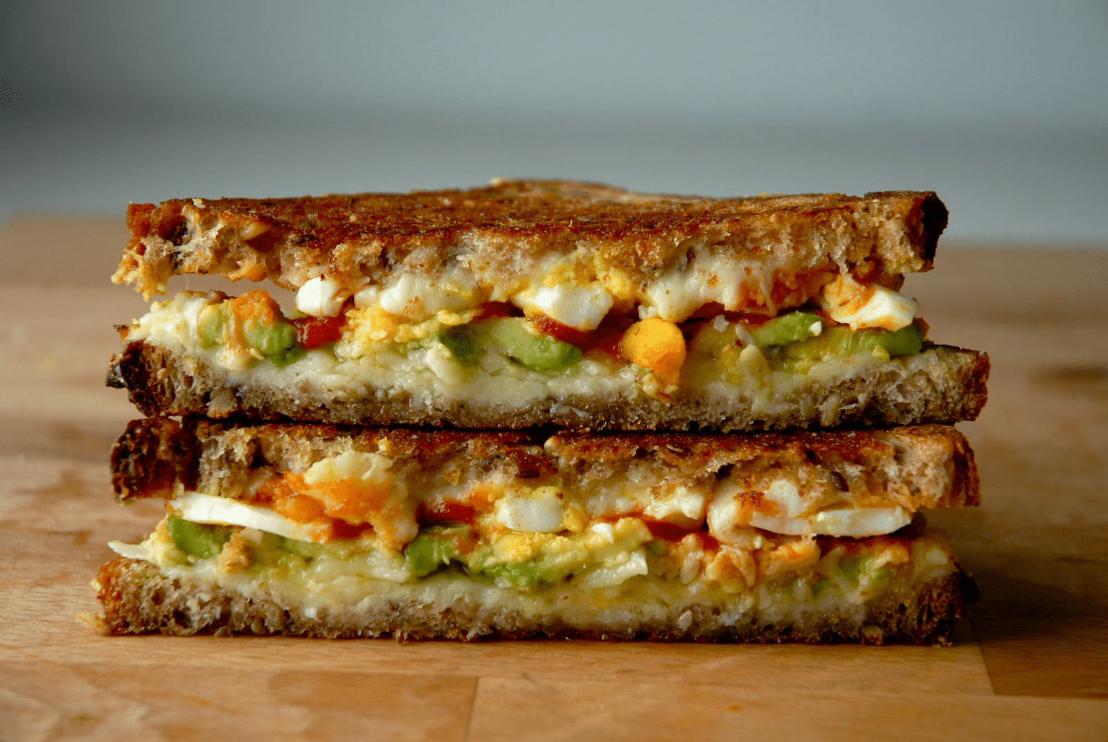 Spice Up Your Breakfast With This Sriracha and Avocado Grilled Cheese
