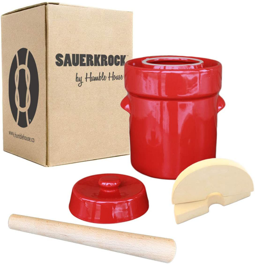 Humble House Sauerkrock with Cabbage Tamper