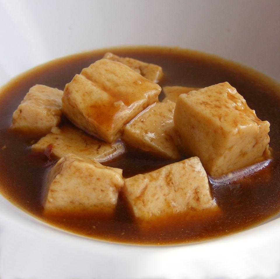 Tofu in sauce