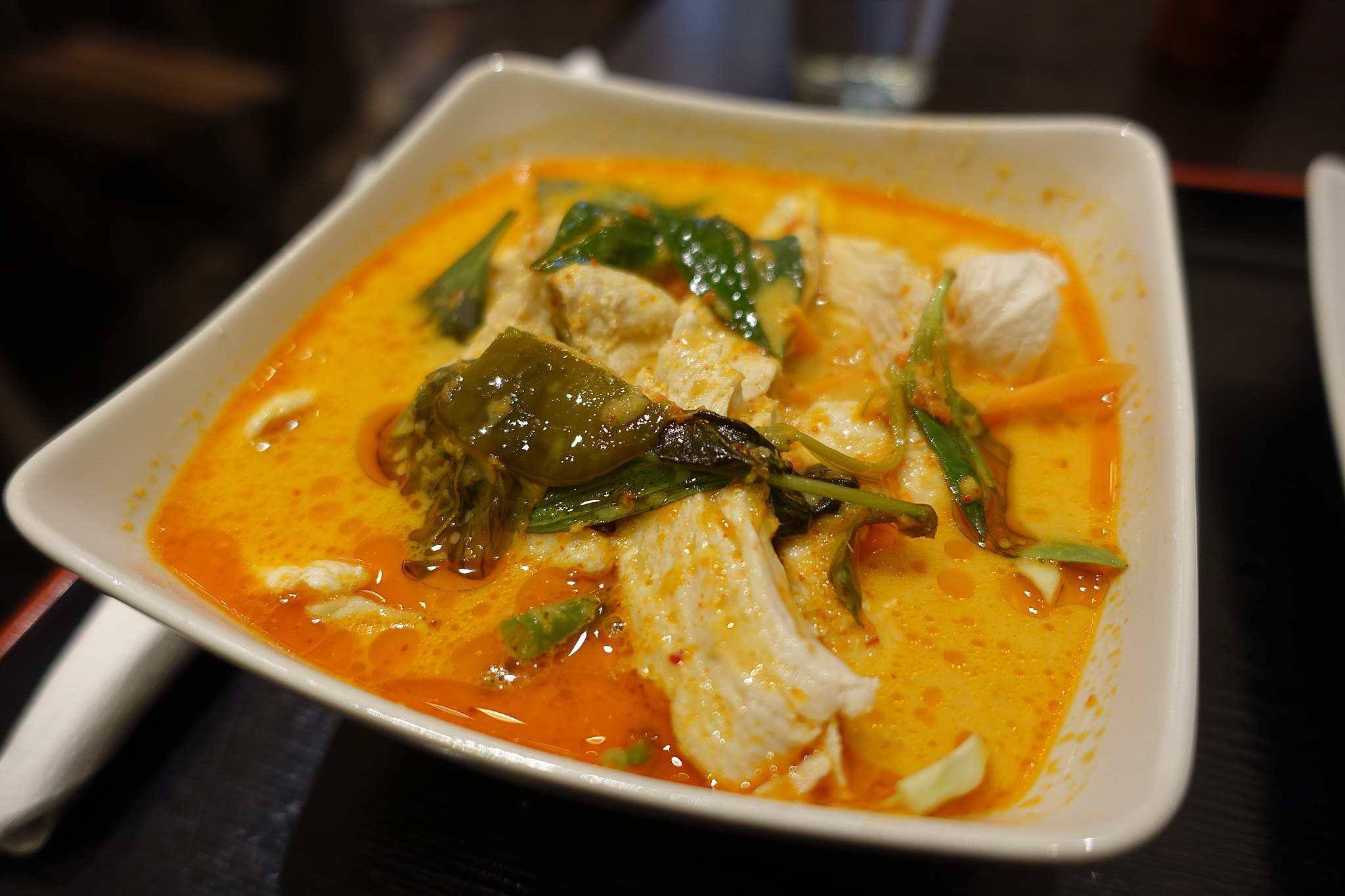 Thai Red Curry -- Meiwenti, 53 Rue de Richelieu, 75001 Paris, France