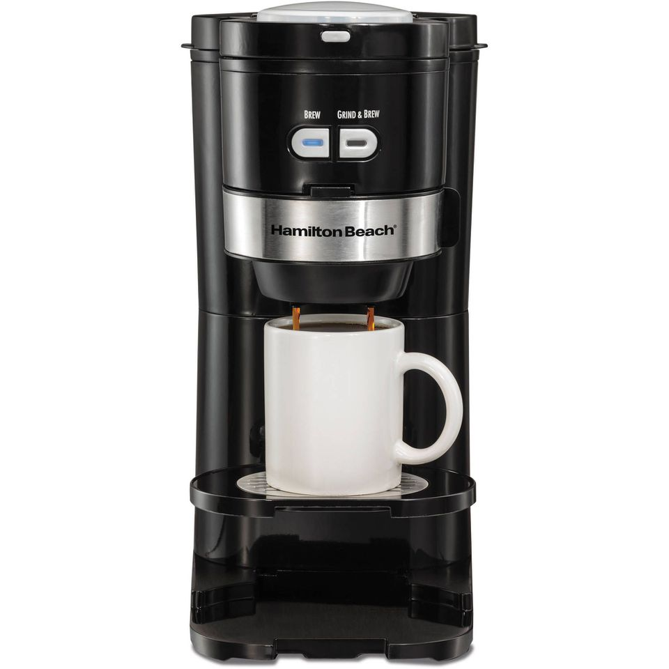 Hamilton Beach Single Serve Grind and Brew Coffee Maker