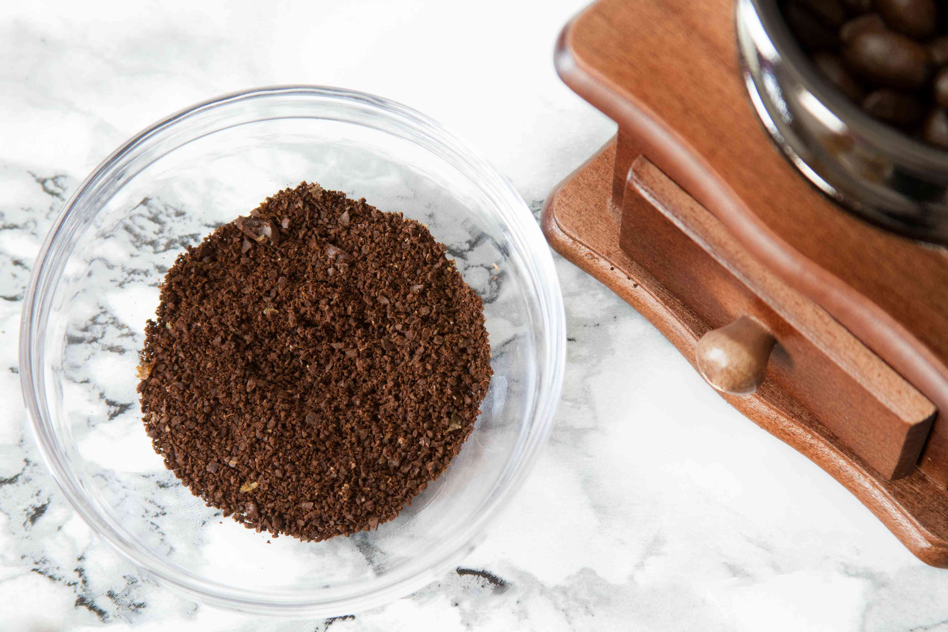 Medium-Fine Ground Coffee for Pour-Over Brewing