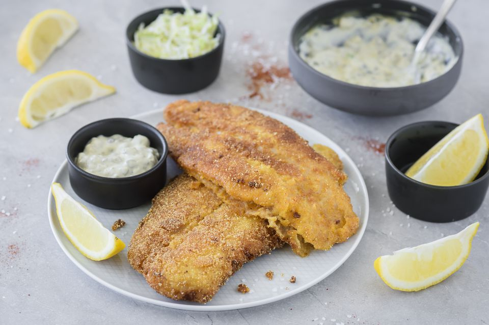 Classic summer fried catfish recipe