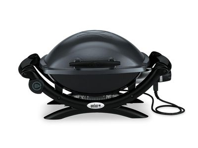 Weber Q 1400 Portable Electric Grill Is Small And Ful