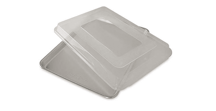 Nordic Ware Natural Aluminum Half Sheet Cookie Sheet with Lid