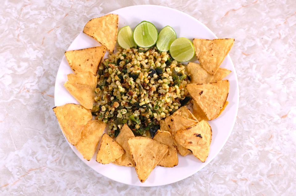 Roasted Chili Corn Salsa