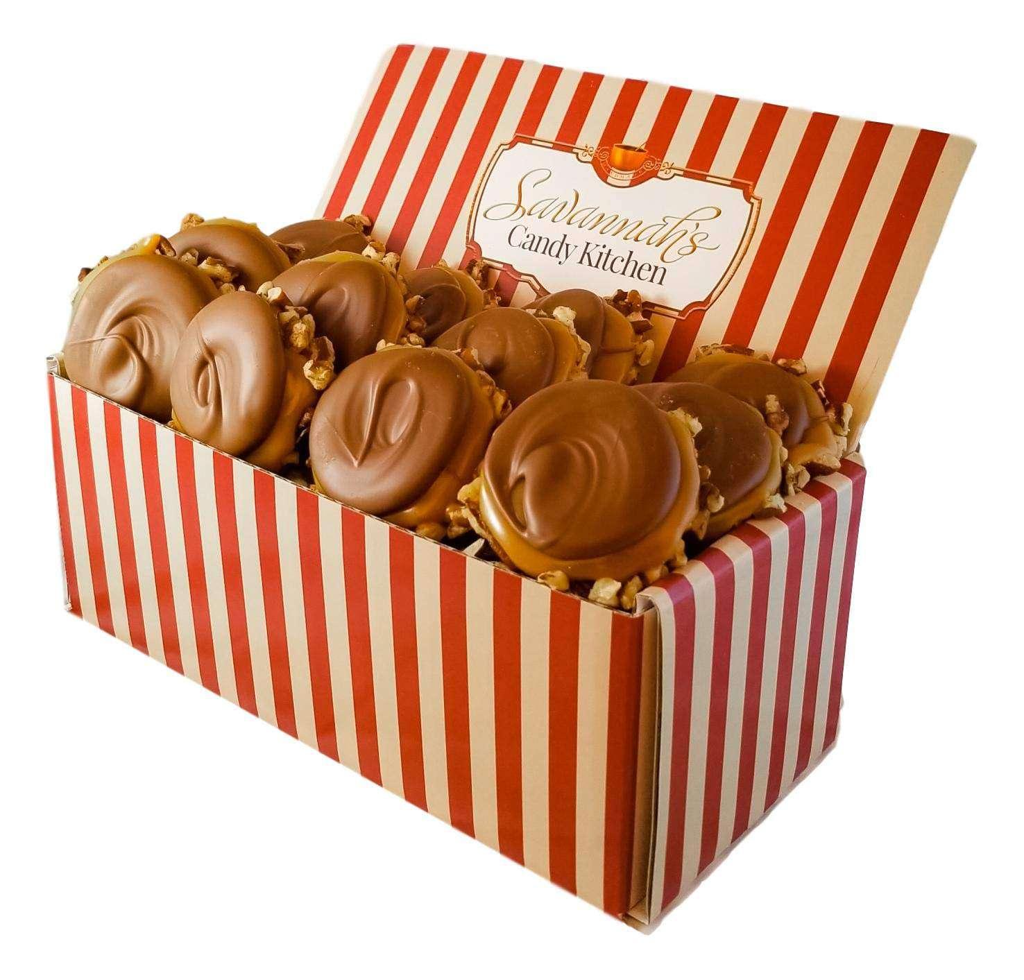 Savannah's Candy Kitchen Milk Chocolate Turtle Gophers