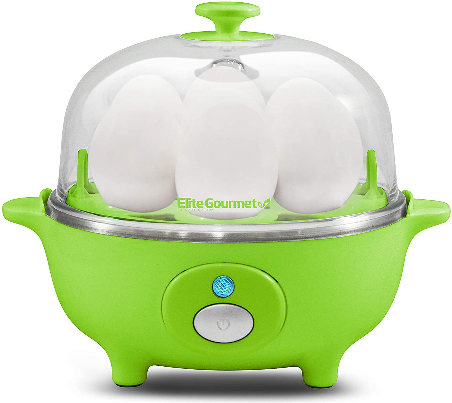 Elite Cuisine by Maxi-Matic Automatic Easy Egg Cooker EGC-007
